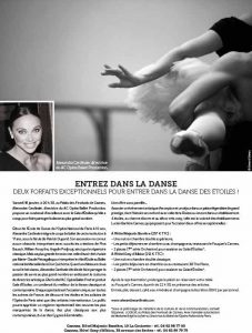 Article Cote Magazine AC Opera Ballet Production