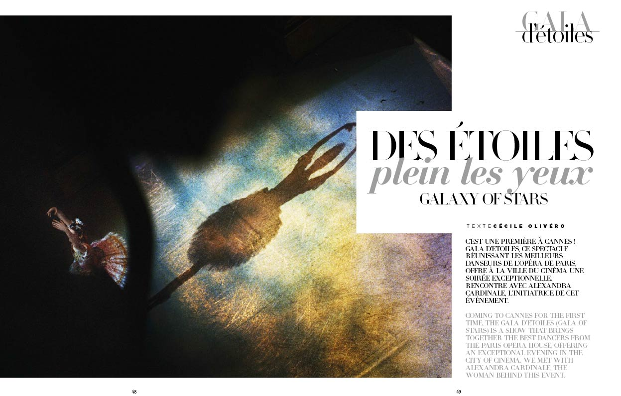 Article La Croisette Magazine AC Opera Ballet Production