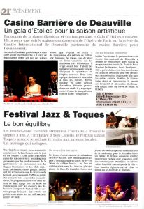 Article Le 21eme Arrondissement-Octobre 2014 AC Opera Ballet Production