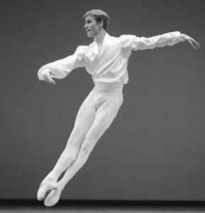 Danseur Fabien Revillion AC Opera Ballet Production